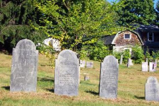 Stow has several old and picturesque cemeteries