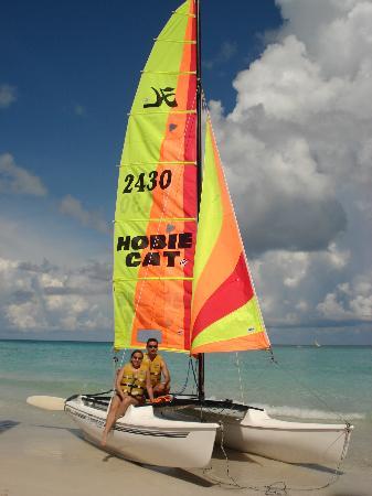 Sol Palmeras: Catamaran del hotel