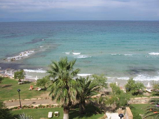 Sani Beach: A room with a View...