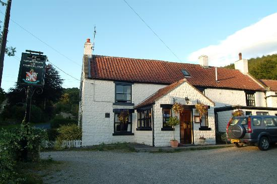 The Stapylton Arms : Wombwell Arms at twilight