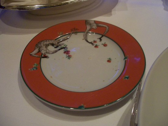 Le Cirque: I fell in love with the plates!