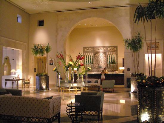 Four Seasons Resort Sharm El Sheikh: the main lobby
