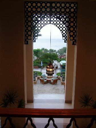 Four Seasons Resort Sharm El Sheikh: view from the lobby