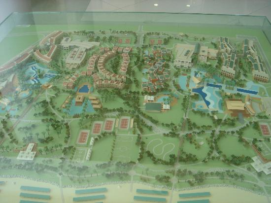 TUI Family Life Tropical Resort: 3d map of the grounds