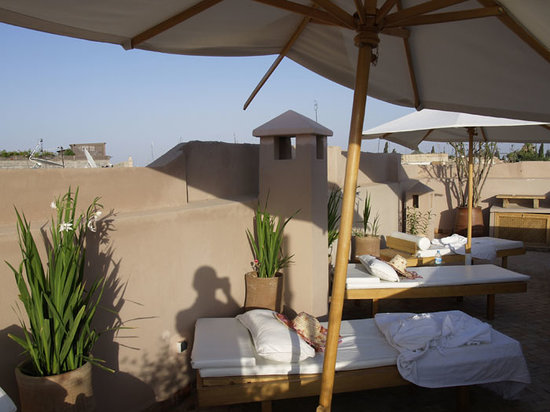 Riad Al Massarah: Roof Terrace
