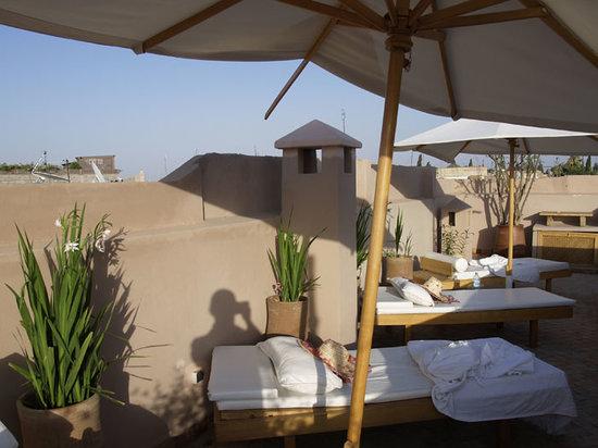 Riad Al Massarah : Roof Terrace
