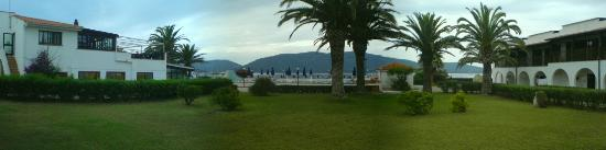 Hotel Portoconte: panoramic view from our room