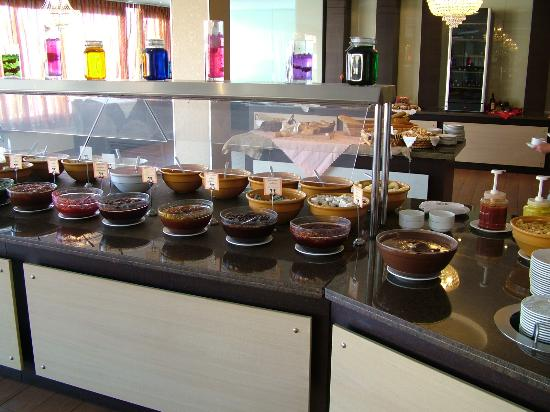 SENTIDO Vasia Resort & Spa: part of breakfast selection