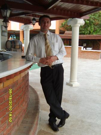 Luana Hotels Santa Maria : The main man. Halil