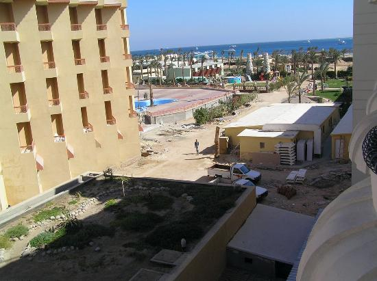 Hurghada SeaGull Beach Resort: view from our room