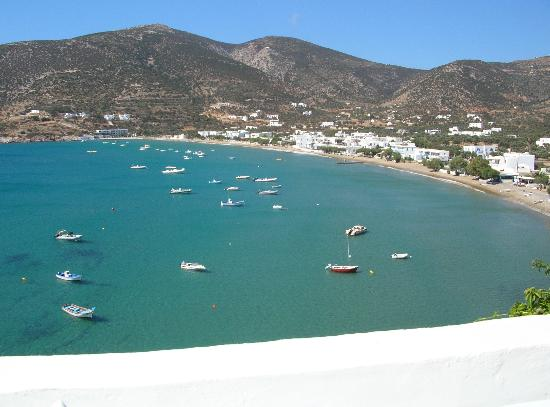 Platis Yialos, Grecia: view from terrace