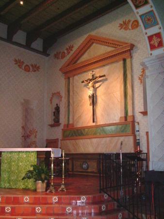 Mission San Luis Obispo de Tolosa: San Luis Obispo Mission Interior