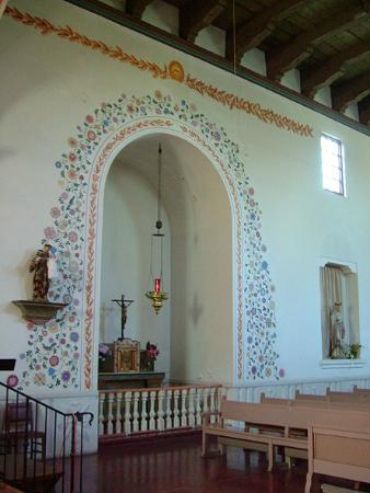 Mission San Luis Obispo de Tolosa: Interior Mission