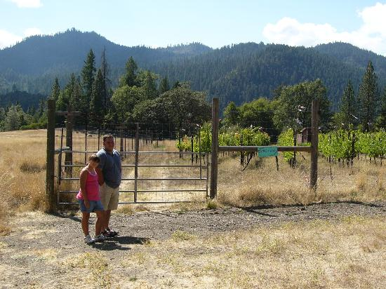 Hyampom, CA: On-Site Vineyard