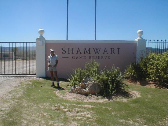 Shamwari Game Reserve Lodges: Shamwari gate