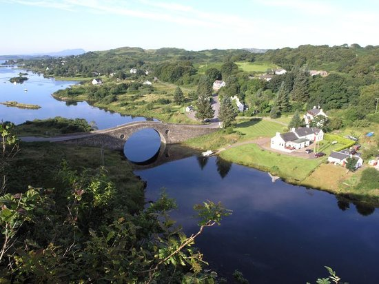 Isle of Seil, UK: Innish by the Bridge over the Atlantic