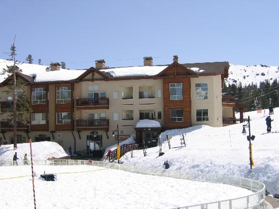 Mountain Club at Kirkwood Mountain Resort: The Mountain Club with 20 foot base of snow