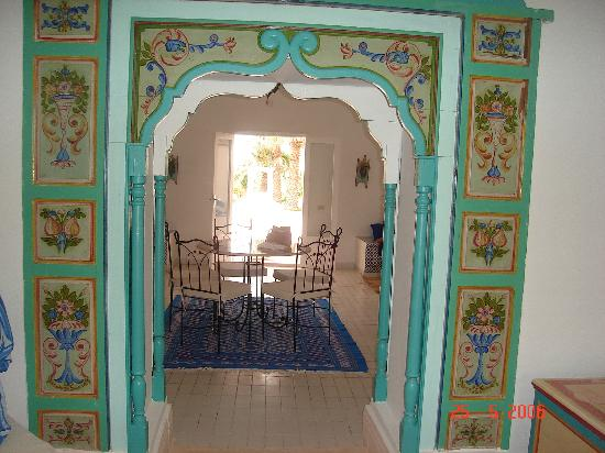Residence Dar Sidi : salon interieur