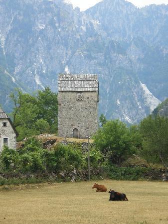 Thethi, Albania