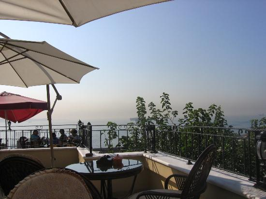 Hotel Alp Guesthouse: la terrazza