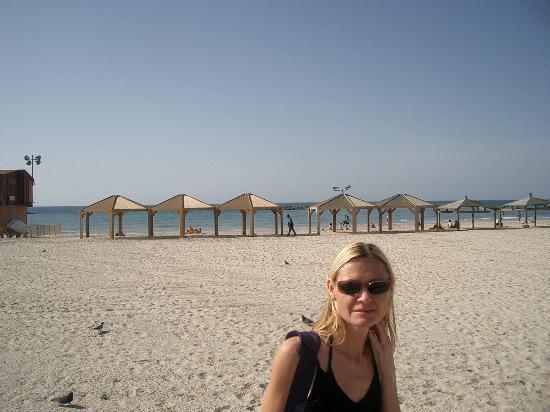 Kibbutz Ein Gedi : Am Strand von Tel Aviv