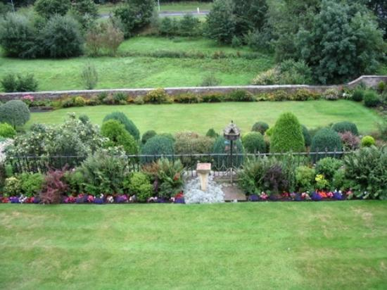 Ashcroft Guest House: view from room of gardens