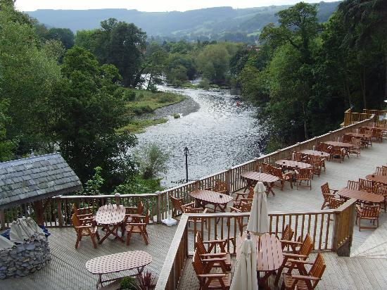 White Waters Country Hotel : The view from our room- 208