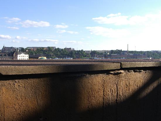 Sheraton Stockholm Hotel: Magnificent View when seated on Balcony
