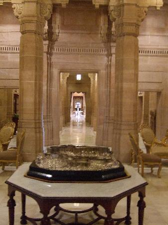 Umaid Bhawan Palace Jodhpur: The Hallway
