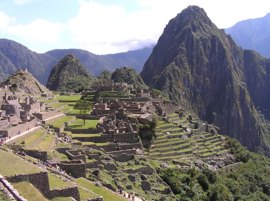 Machu Picchu, Perú: Ah, I can see some people...