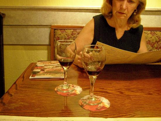 Complimentary Wine Sample Picture Of Olive Garden Branson
