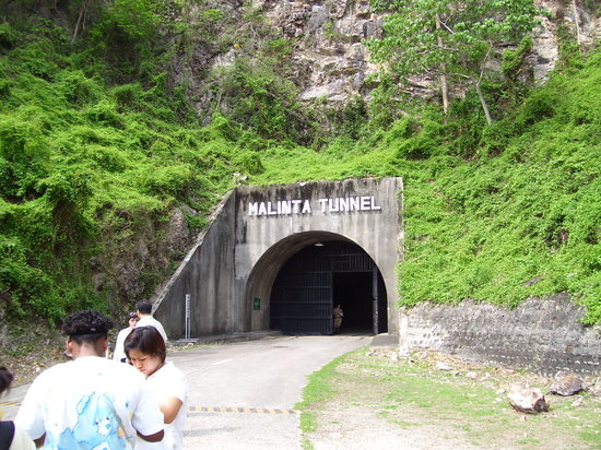 Corregidor Island, Philippines: Malinta Tunnel entrance