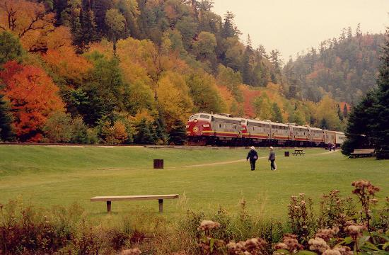 Agawa Canyon Tour Train 사진