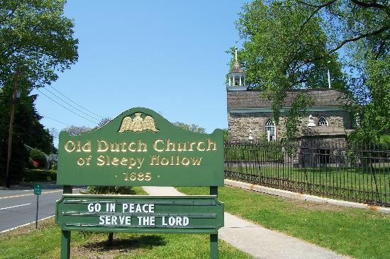 Sleepy Hollow, Нью-Йорк: Old Dutch Church