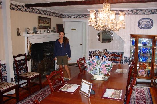Seekonk, MA: In the pretty dining room