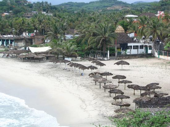 Hotel Le Petit Hotel: Puerto Escondido Beach