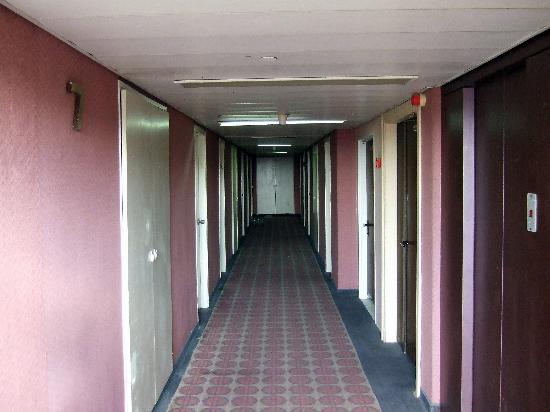 Galil Hotel: The hallway.