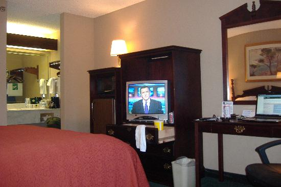 Quality Inn Ocean Springs: tv