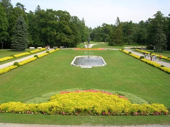 Palanga, Lituania: Amber Museum Gardens