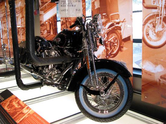 Harley-Davidson Vehicle Operations: Static display HD York PA visitors center, finished bike!