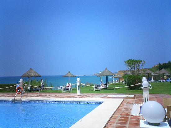 Hipotels Hotel Flamenco Conil: View from Terrace Bar