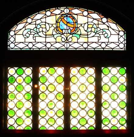 Local 121: Window in bar area