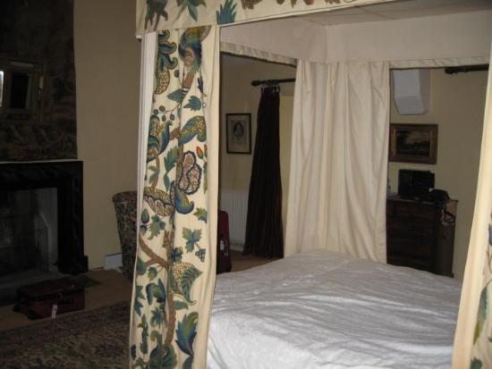 Gwydir Castle B&B: Our room