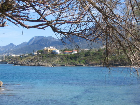 Kyrenia, Chipre: Escape Beach