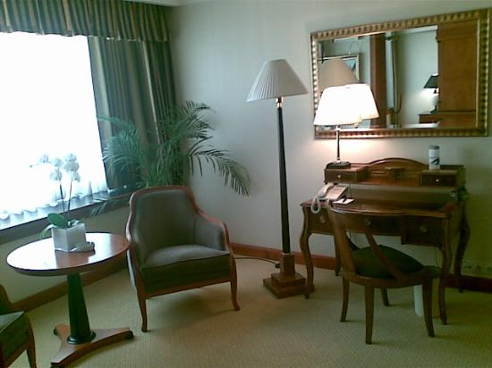 InterContinental Budapest: Presidential suite, secondary sitting room