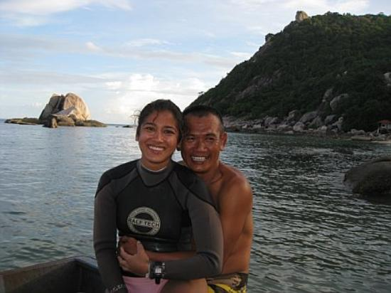 Black Tip Diving & Water Sports IDC Resort: Shalini & Dom - Owners, Instructors & Dive Masters