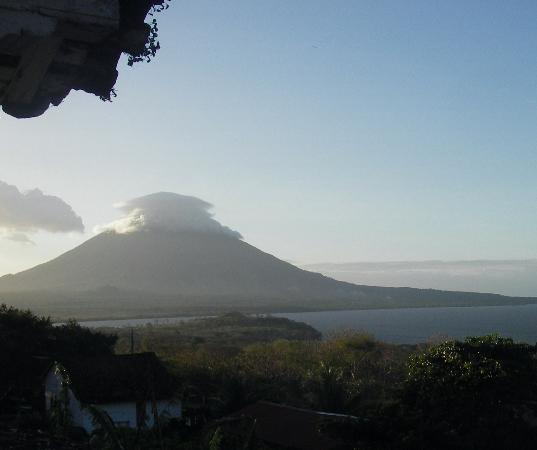 Isla de Ometepe, Nicaragua: Concepion volcano from base of Maderas hike
