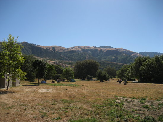 Andrew Molera State Park : Nice view of California mountains