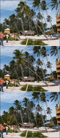 Boca Chica: East end of the beach (Hotel Hamaca)