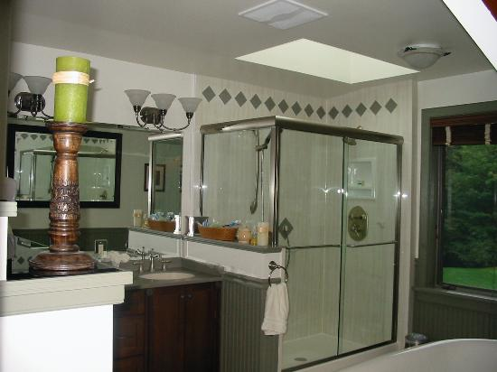The Chalet of Canandaigua: Two person shower